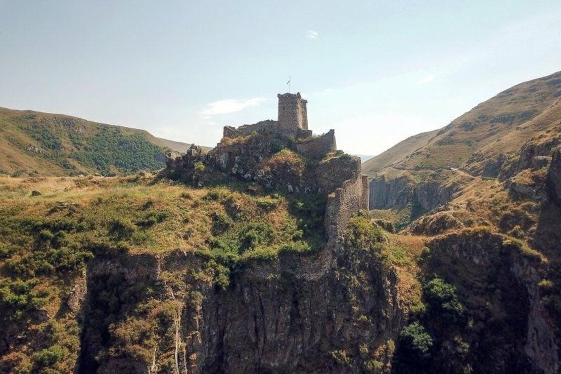 Ardahan'da bir orta çağ kalesi: Şeytan Kalesi