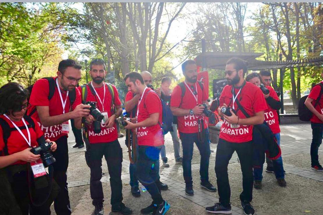 İstanbul'un kalbinde PhotoMaraton şenliği