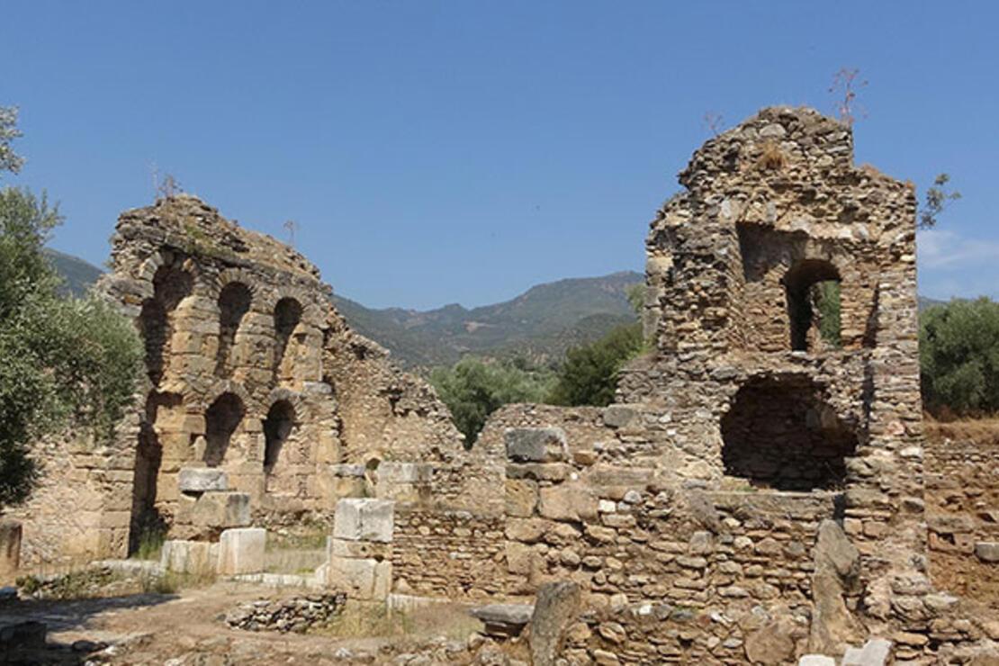 Antik kentteki Sütunlu Cadde gün yüzüne çıkıyor