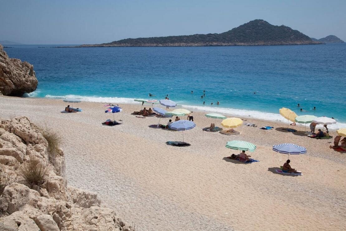 Kaputaş Plajı dünyada en iyiler arasında