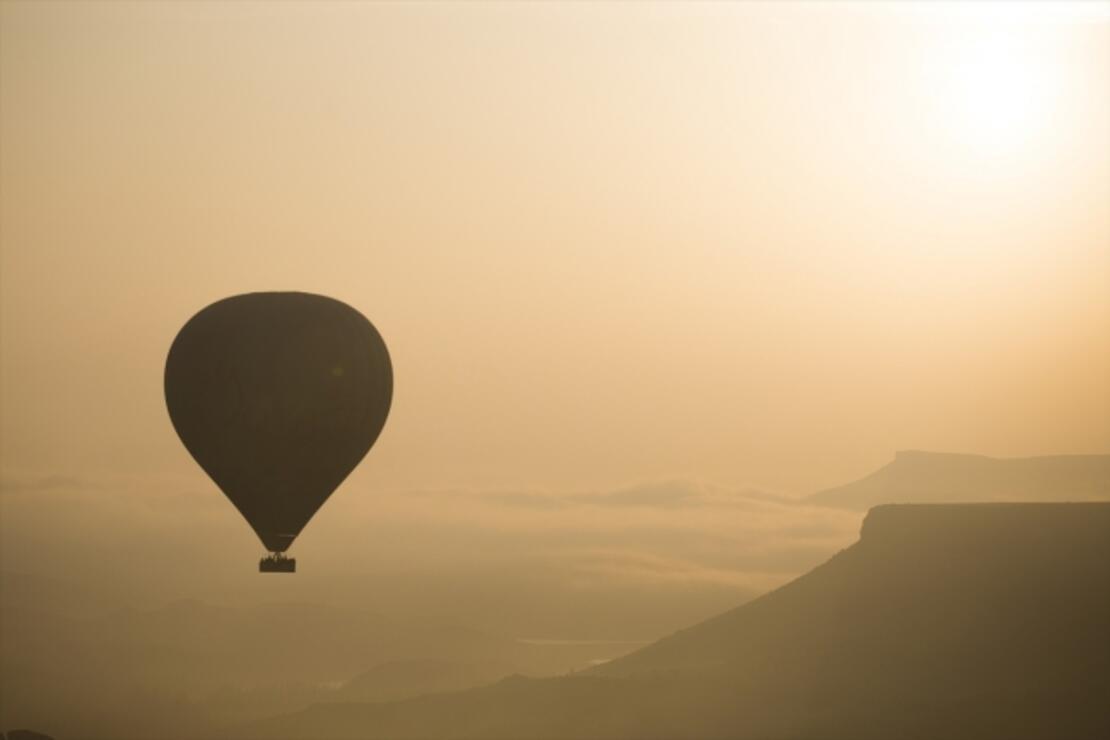 Kayseri'de sıcak hava balonu uçuşları başladı