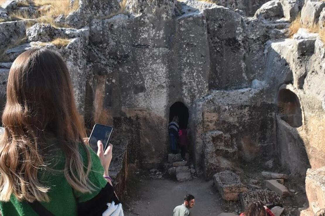 Perre Antik Kenti'ni bu yıl 10 bin kişi gezdi