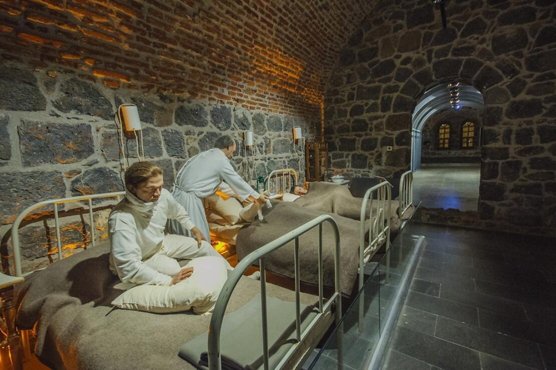 Ziyaretçilerini duygulandıran Kanlı Tabya Müzesi