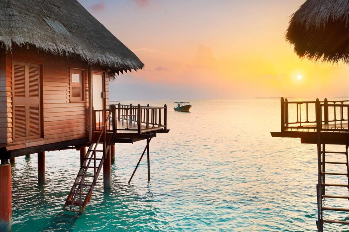 Yeryüzünde mavi bir cennet: Maldivler