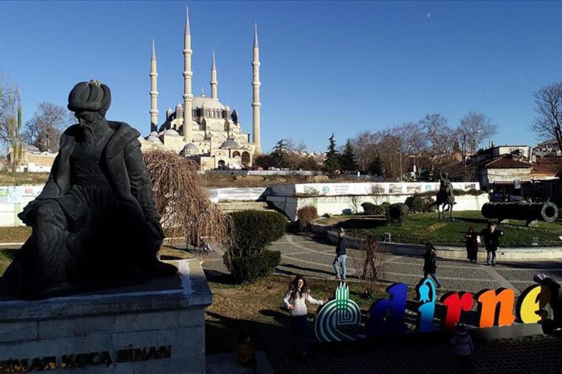 'Sultanlar şehri' Edirne turistlerin gözdesi oldu