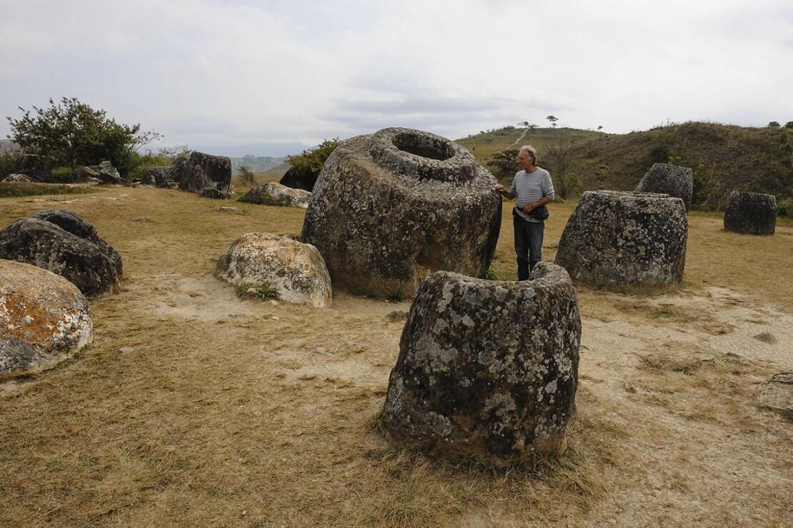Laos'un gizemli 'Kavanozlar Ovası'