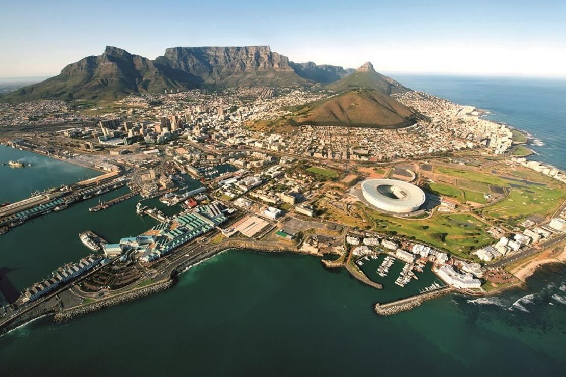 Bir Afrika masalı: Cape Town