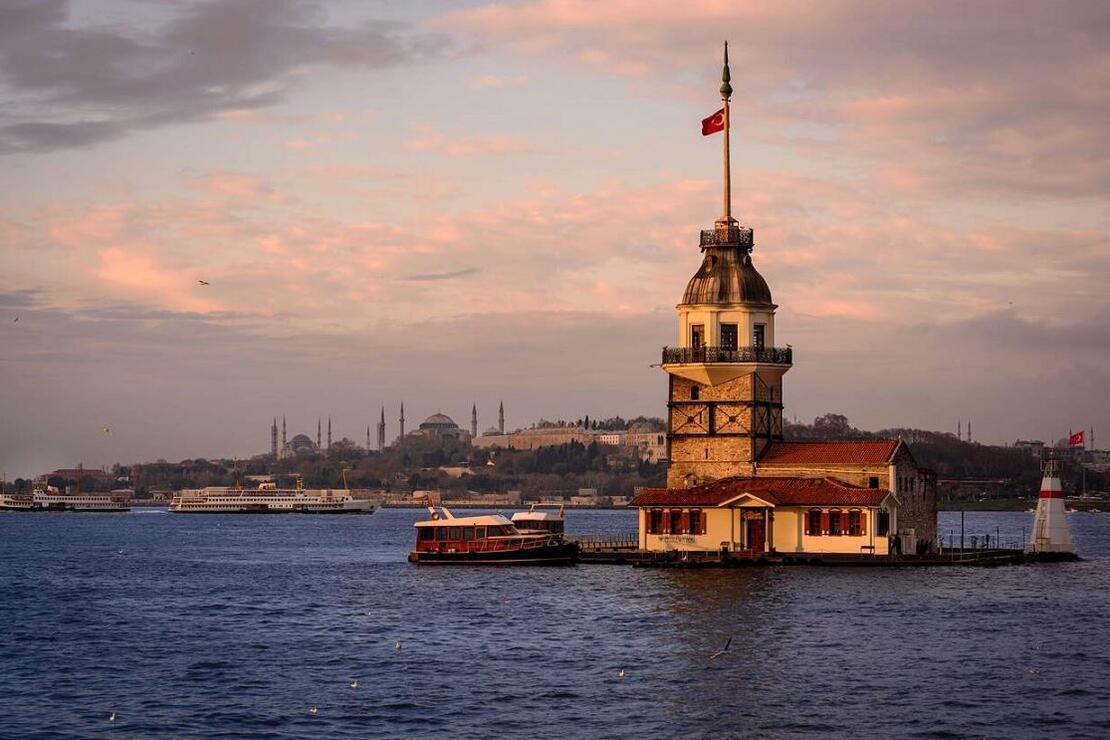 İstanbul'da en huzurlu yer Eyüpsultan, en romantik yer Kız Kulesi oldu