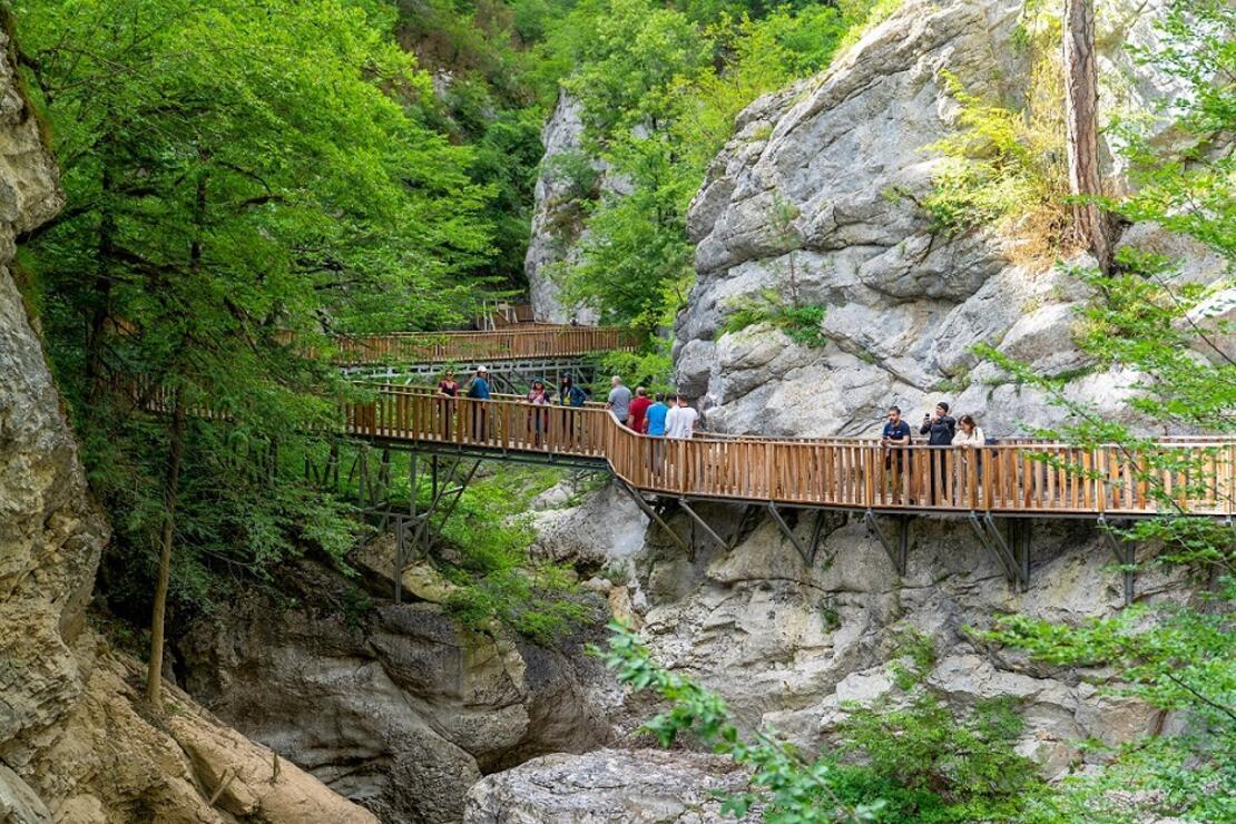 Anadolu'nun gizli cennetlerinden Horma Kanyonu