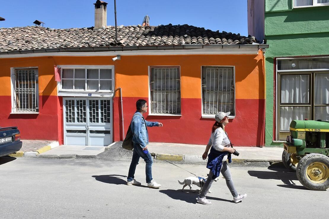 Babadağ'ın renkli evleri