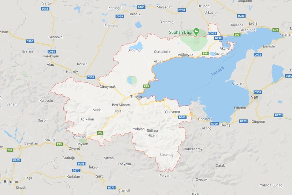 Bitlis'in İlçeleri Neler Ve Hangi Bölgede? Bitlis'de Gezilecek Ve Tarihi Yerler
