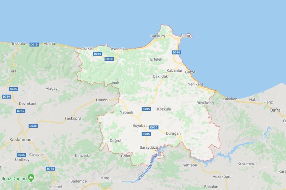 Sinop'un İlçeleri Neler Ve Hangi Bölgede? Sinop'da Gezilecek Ve Tarihi Yerler