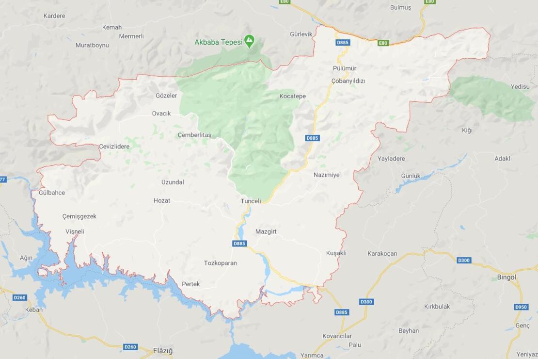 Tunceli'nin İlçeleri Neler Ve Hangi Bölgede? Tunceli'de Gezilecek Ve Tarihi Yerler