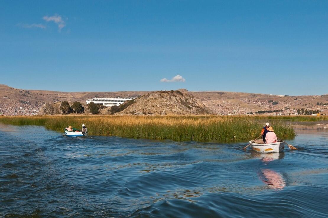 Güney Amerika'nın en büyük tatlı su gölü: Titikaka