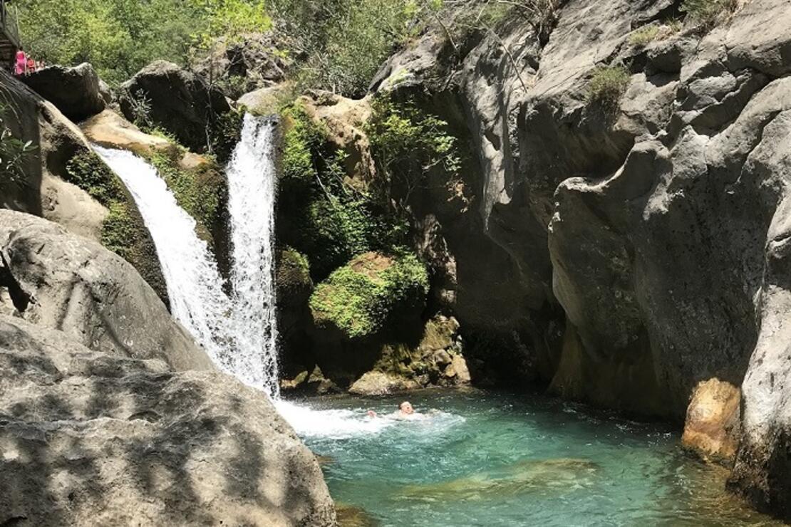 Akdeniz'in saklı cenneti: Sapadere Kanyonu