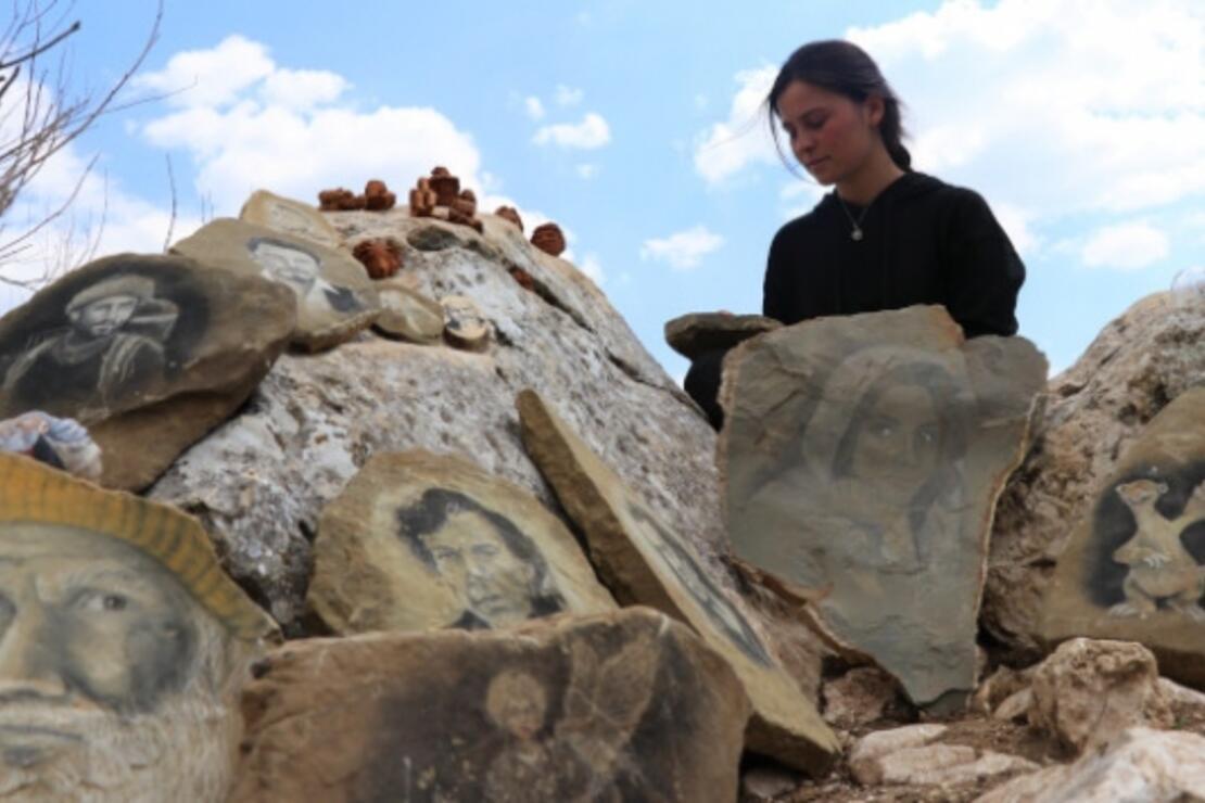 Yörük kızı Büşra'nın yeteneği dağa taşa sığmadı