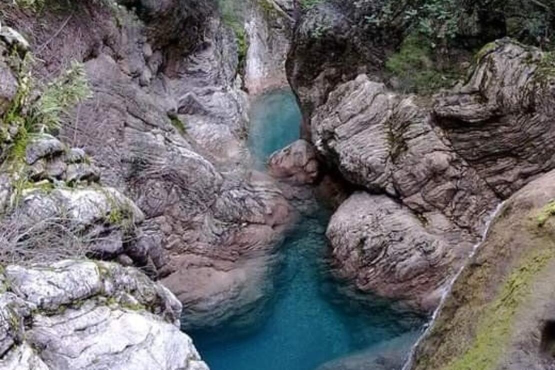 İçmeler Kanyonundaki görüntüler doğa severleri harekete geçirdi