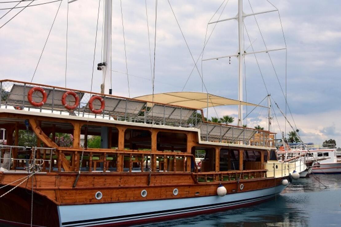 'Sakin Şehir'deki tur teknelerinde koronavirüs sonrasına hazırlık
