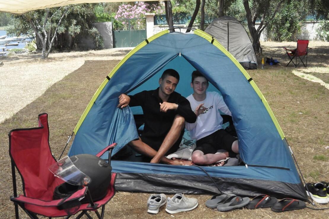 Çadır kampları hazırlıklarını tamamladı