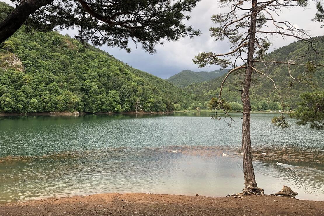 Sessizliği, sakinliği ve doğasıyla kampçıların uğrak noktası Boraboy Gölü