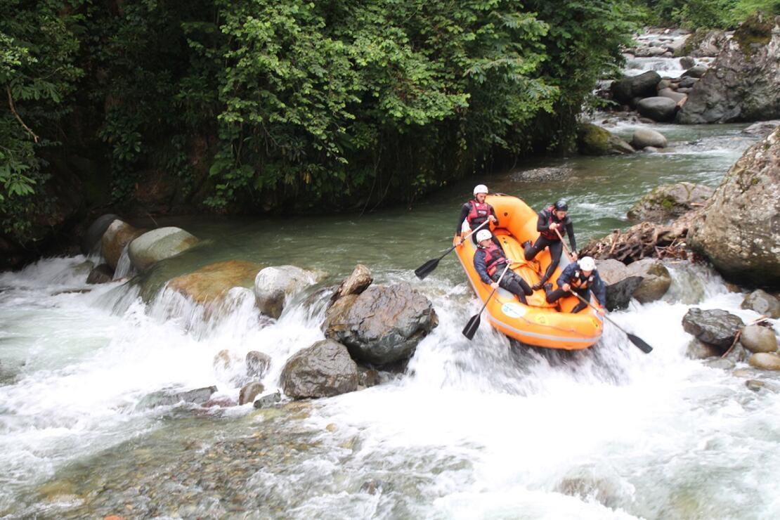 Türkiye'de yeni bir rafting parkuru: Rize Tunca Vadisi