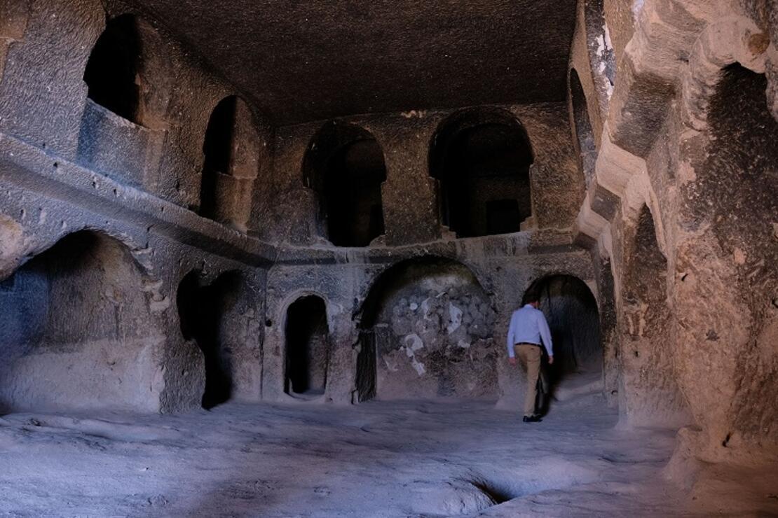 Kapadokya'nın gözdesi Selime Katedrali'nde pandemi sessizliği