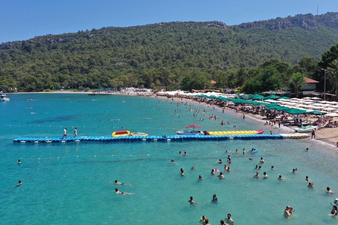 Turistler tatillerini Türkiye'de geçirmekten mutlu