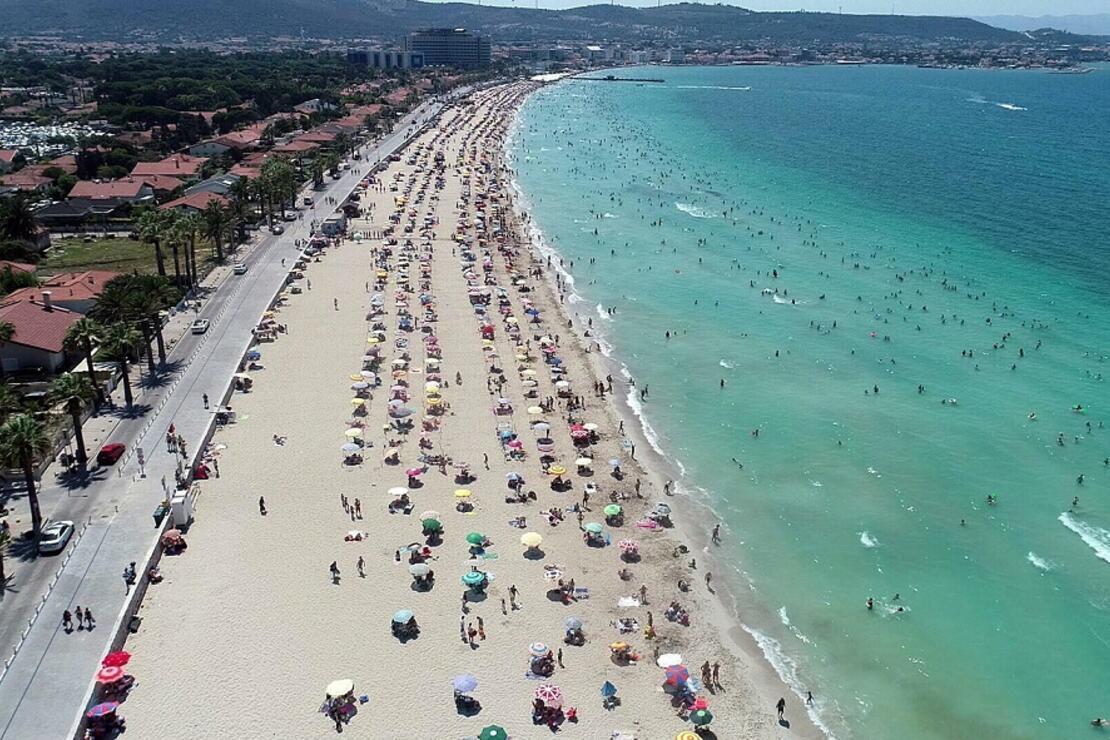 Turizm cenneti Ege'ye tatilci akını