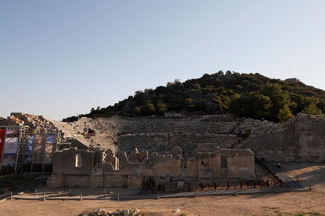 'Patara Yılı'nda antik kentteki çalışmalar hızlandı