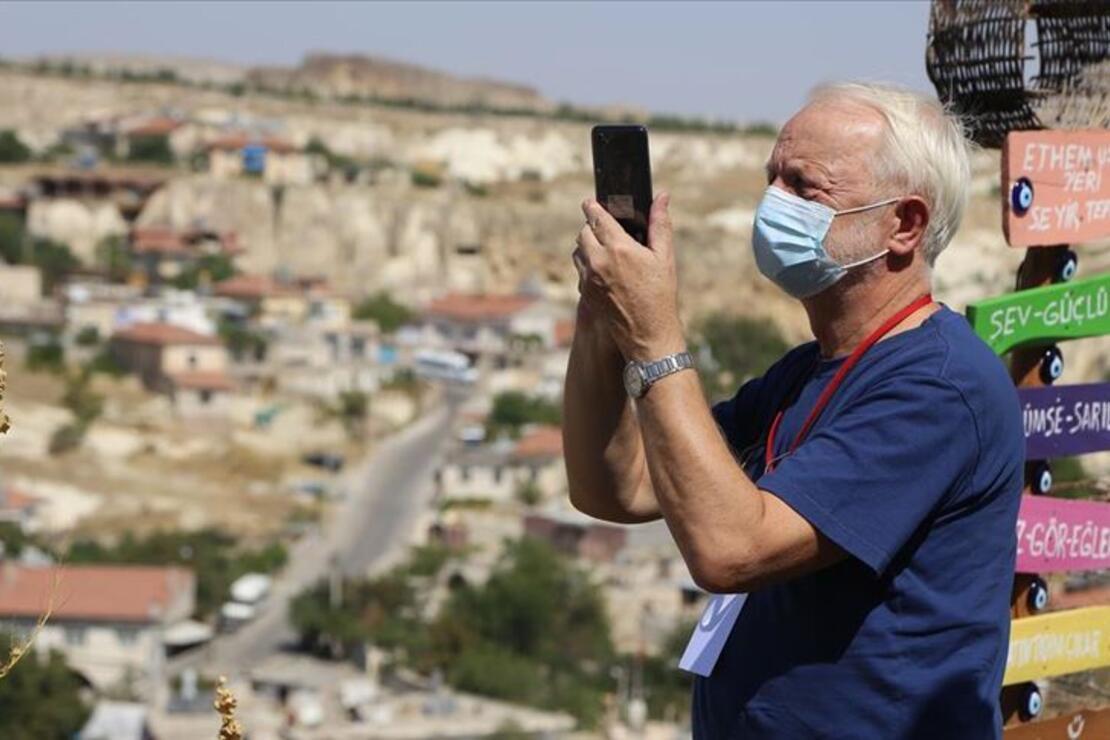 Oscar ödüllü yönetmen Kapadokya'ya hayran kaldı
