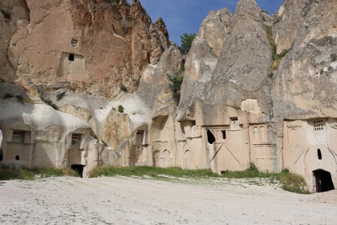 Kapadokya'da Hallaç Manastırı, turizme kazandırılmayı bekliyor