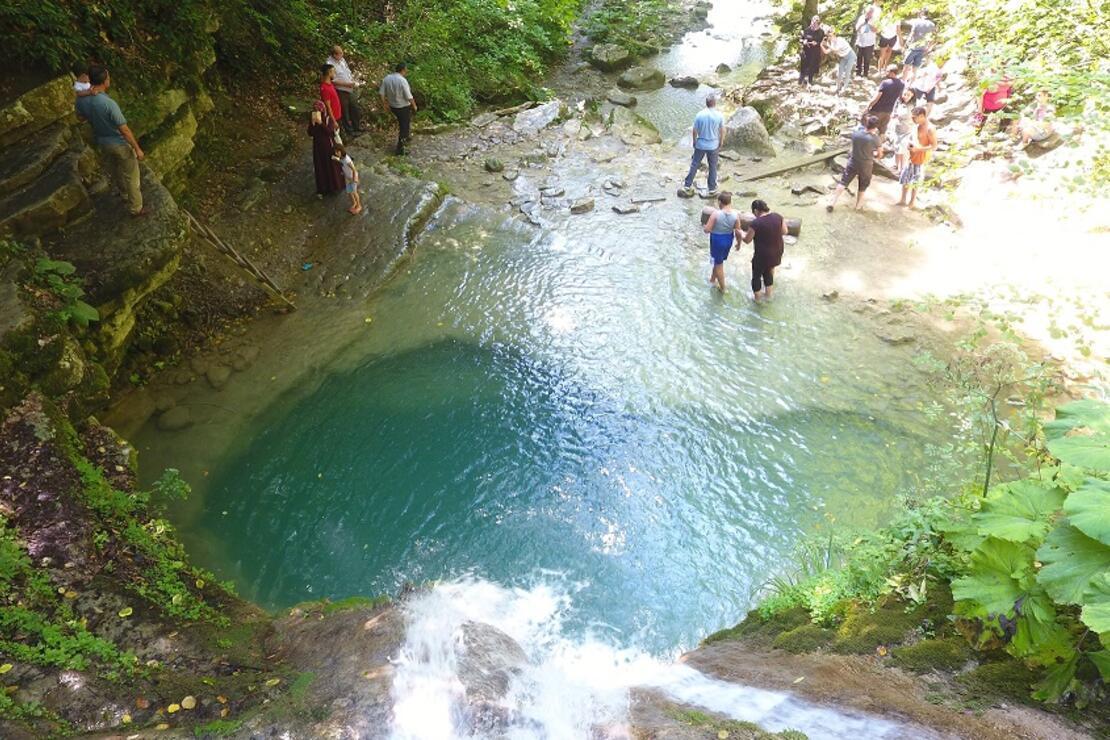Sinop Erfelek Tatlıca Şelaleleri'ni 2,5 ayda 60 bin kişi ziyaret etti