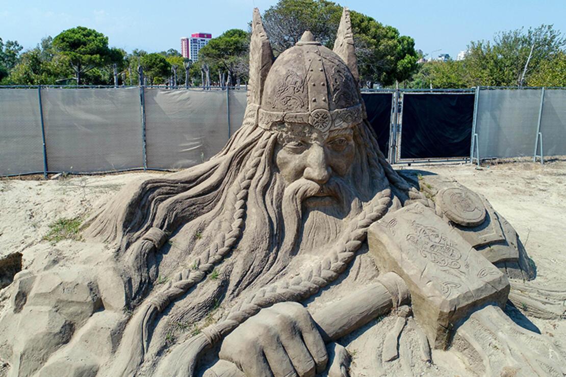 Kumdan heykeller 2021 sezonunda bambaşka olacak