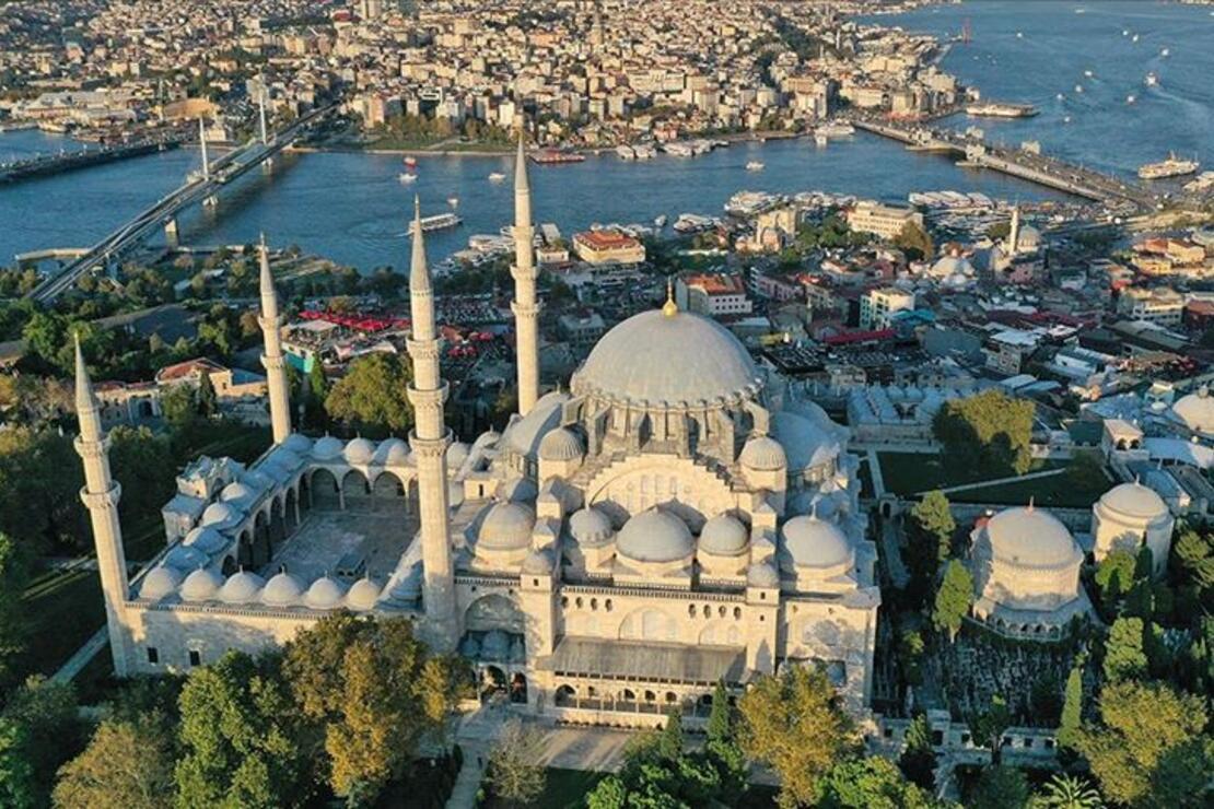 İstanbul'un mührü 'Süleymaniye Külliyesi' 463 yaşında