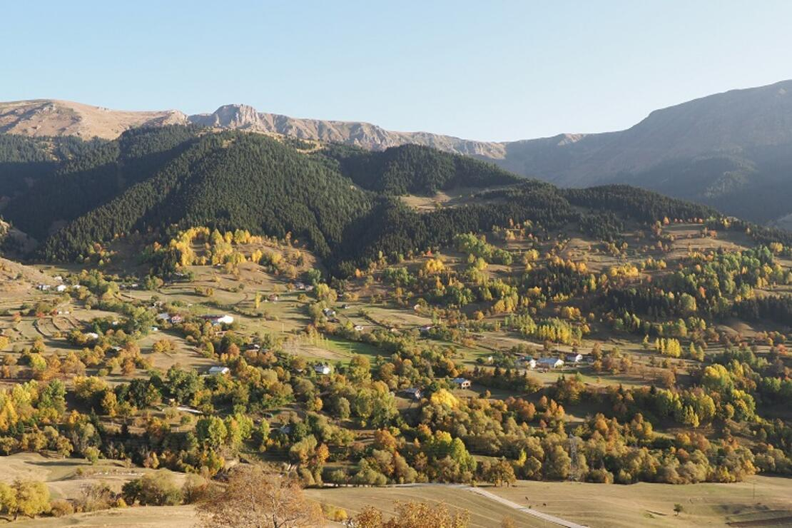 Şavşat'ta sonbahar güzelliği