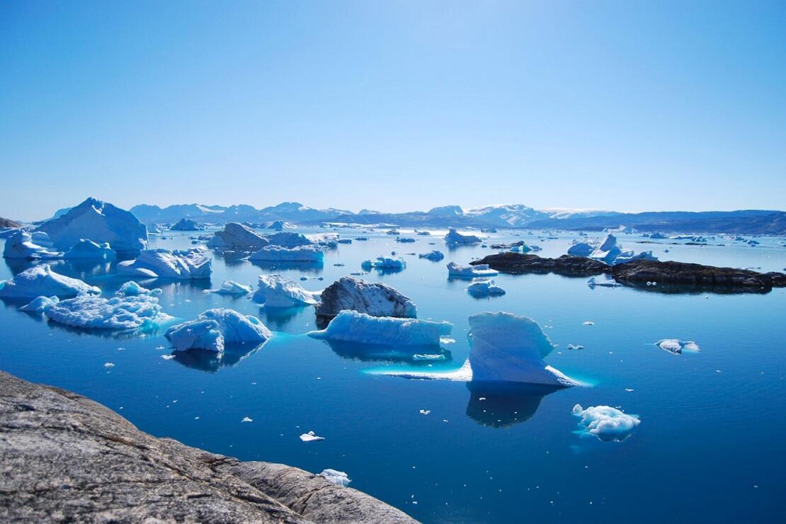 Grönland'da rekor düzeyde buzul eridi