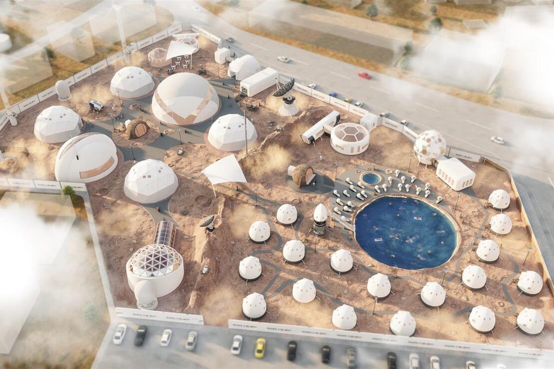 Kuşadası'nda 'Mars kolonisi' temalı turistik tesis projesi