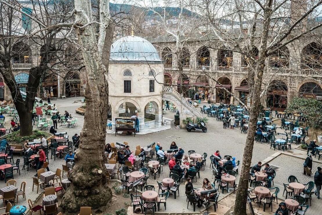 Bursa'yı kuşatan 700 yıllık zenginlik: Tarihi Çarşı ve Hanlar Bölgesi
