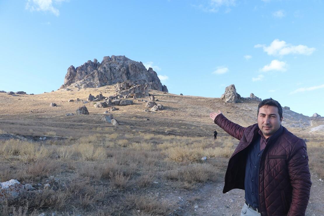 Sivas'ın gizemli Hevük Kalesi keşfedilmeyi bekliyor