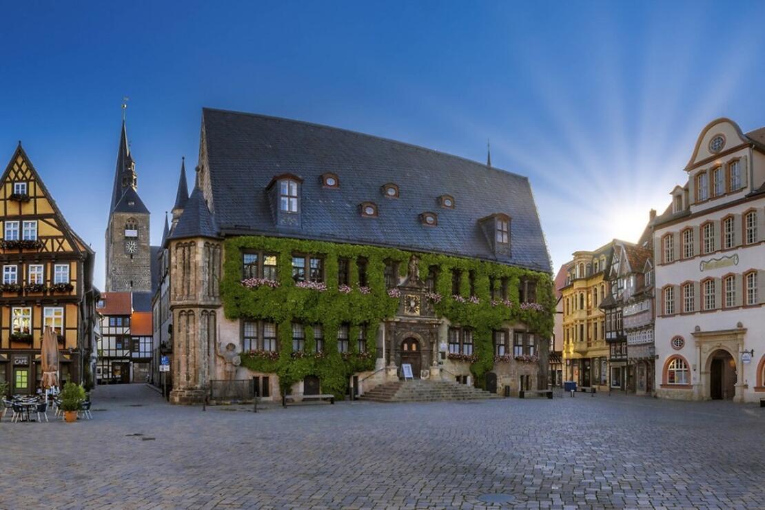 Almanya'nn 'Dünya Mirası Listesi'ndeki kasabası: Quedlinburg