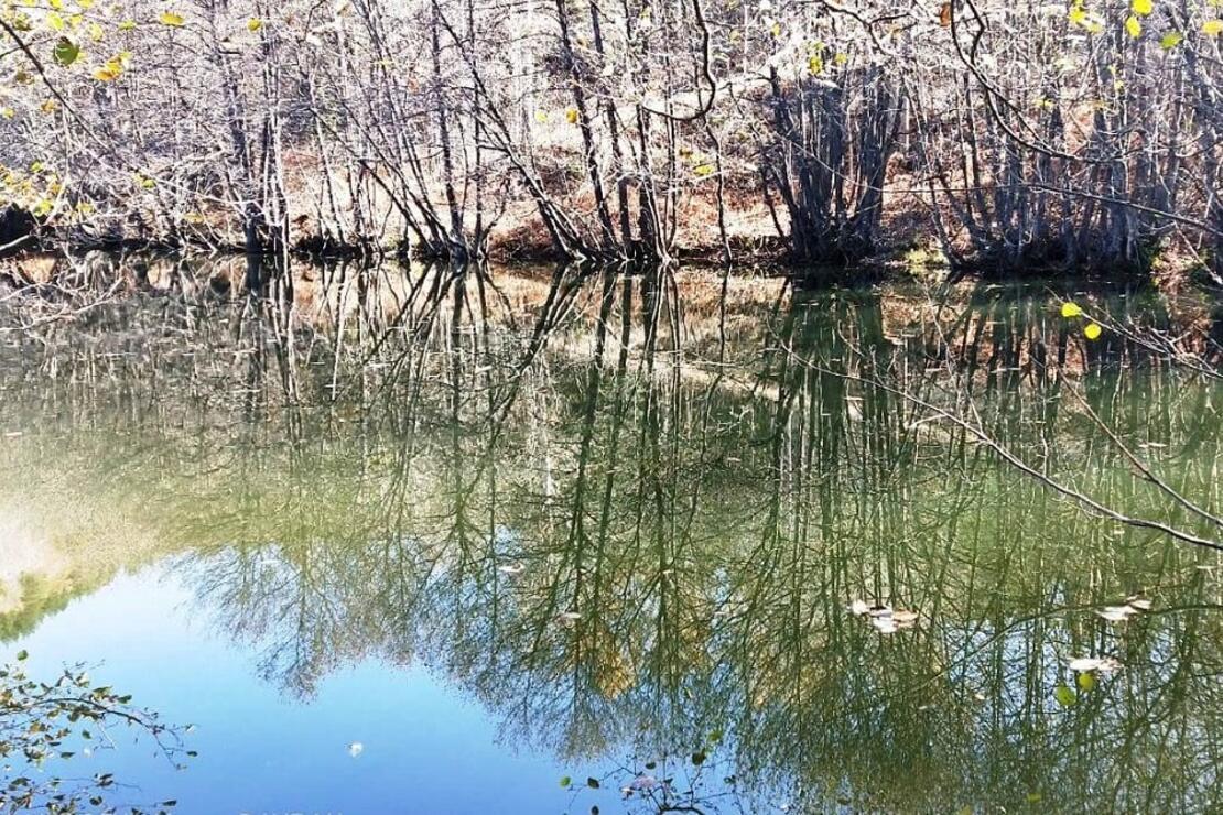 Doğa harikası göl, turizme kazandırılmayı bekliyor