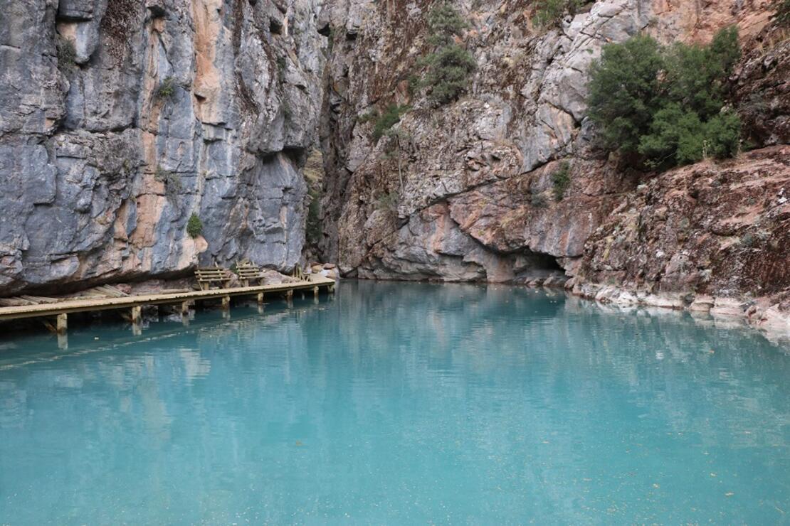 Mahalle halkının korkup yaklaşamadığı kanyon turizme kazandırılıyor