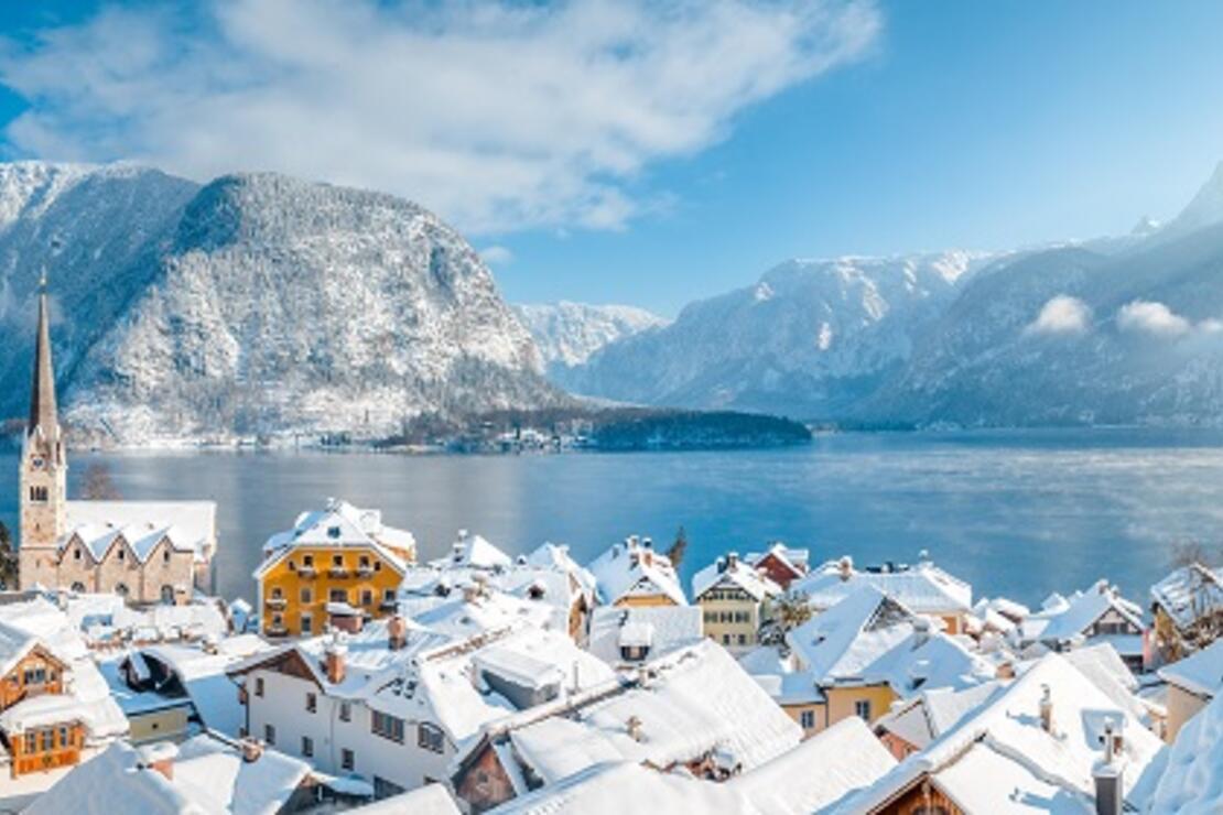 Avrupa'da kışın en çok yakıştığı güzel: Hallstatt