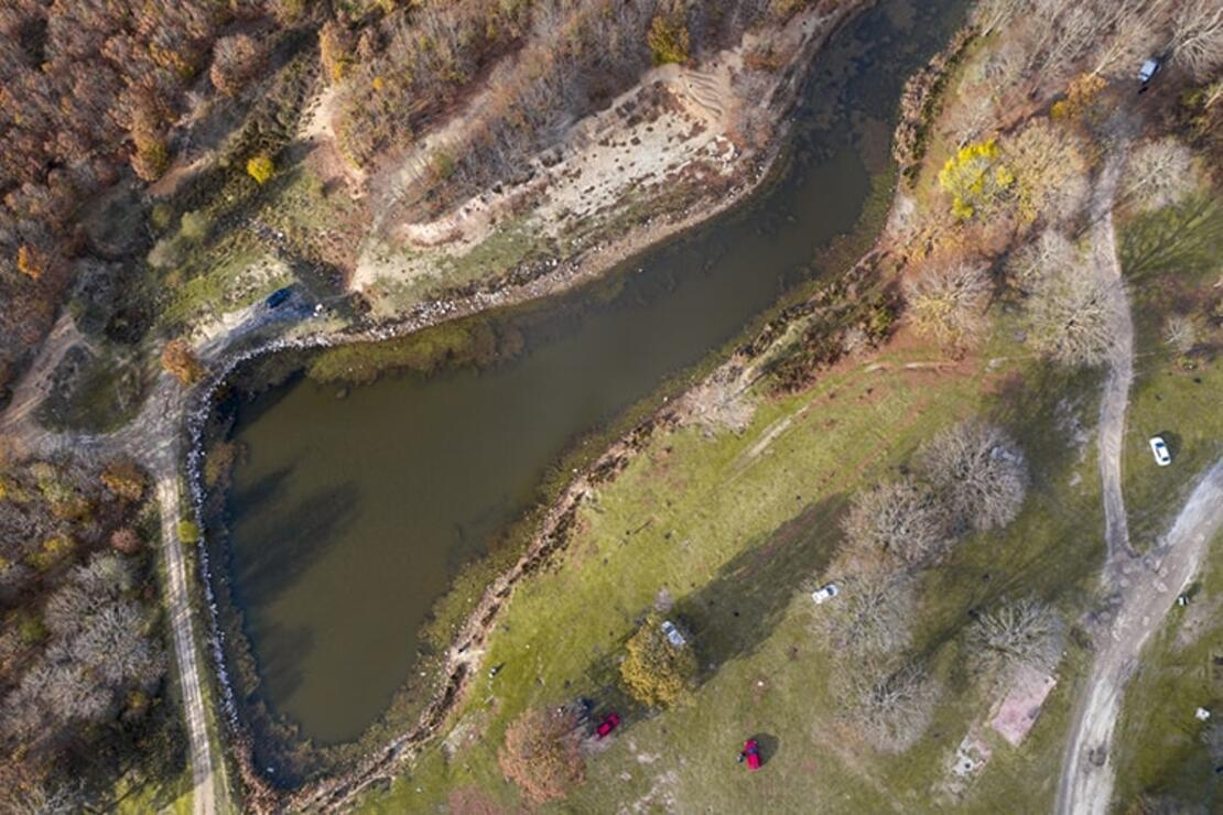 Tekirdağ'ın göllerinde sonbahar büyülüyor