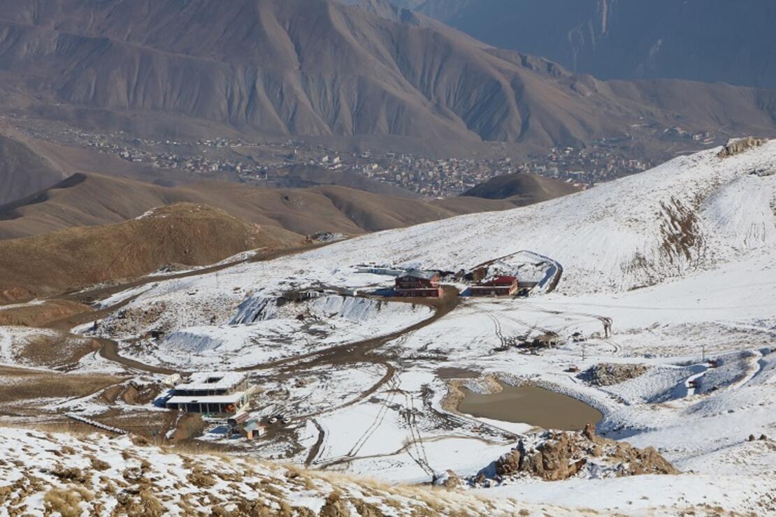 Hakkari'deki kayak merkezi yeni sezona hazır