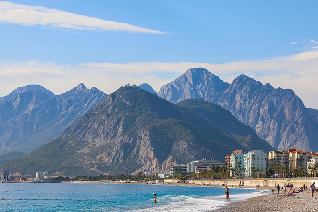 Antalya'da son sıcak havalar yaşanıyor