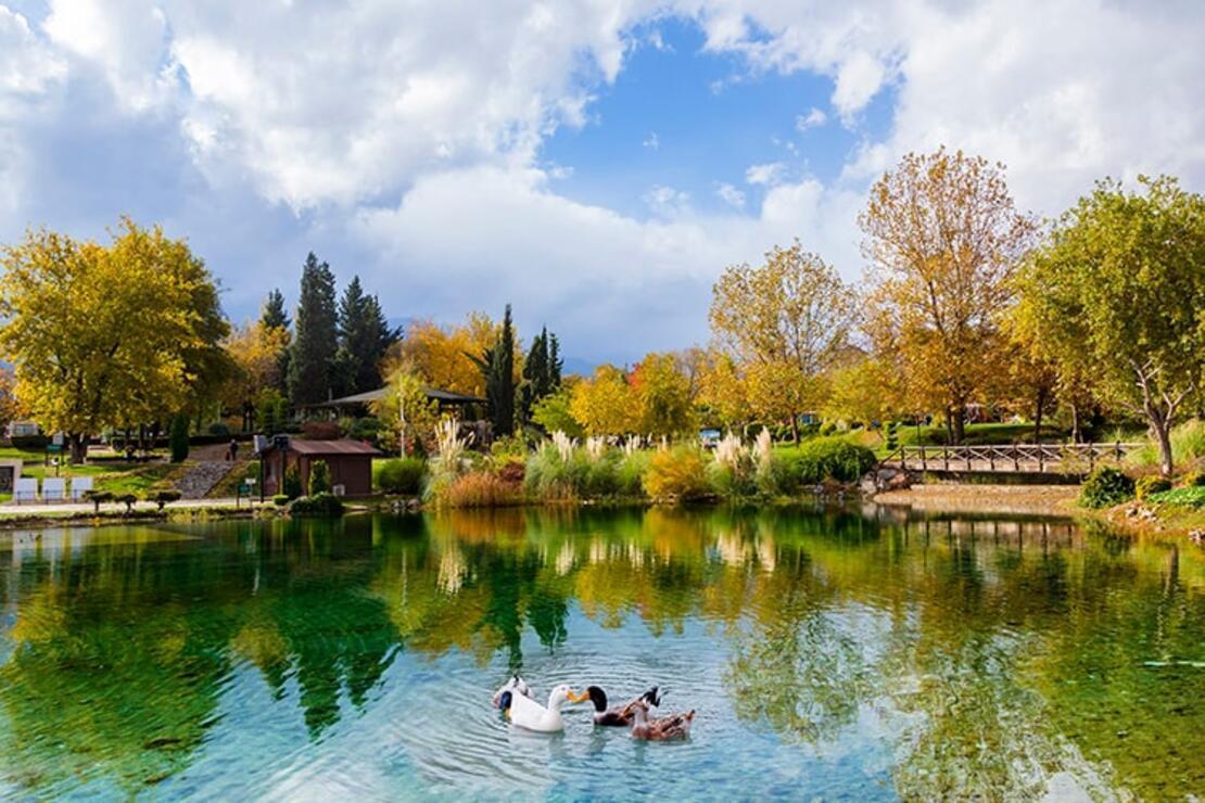 Türkiye'nin ilk ve tek Yeşil Bayrak ödülünü İncilipınar Parkı aldı