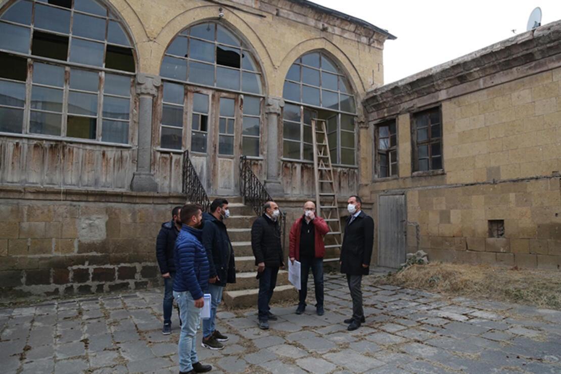 Tarihi Kadıoğlu Konağı turizme kazandırılacak