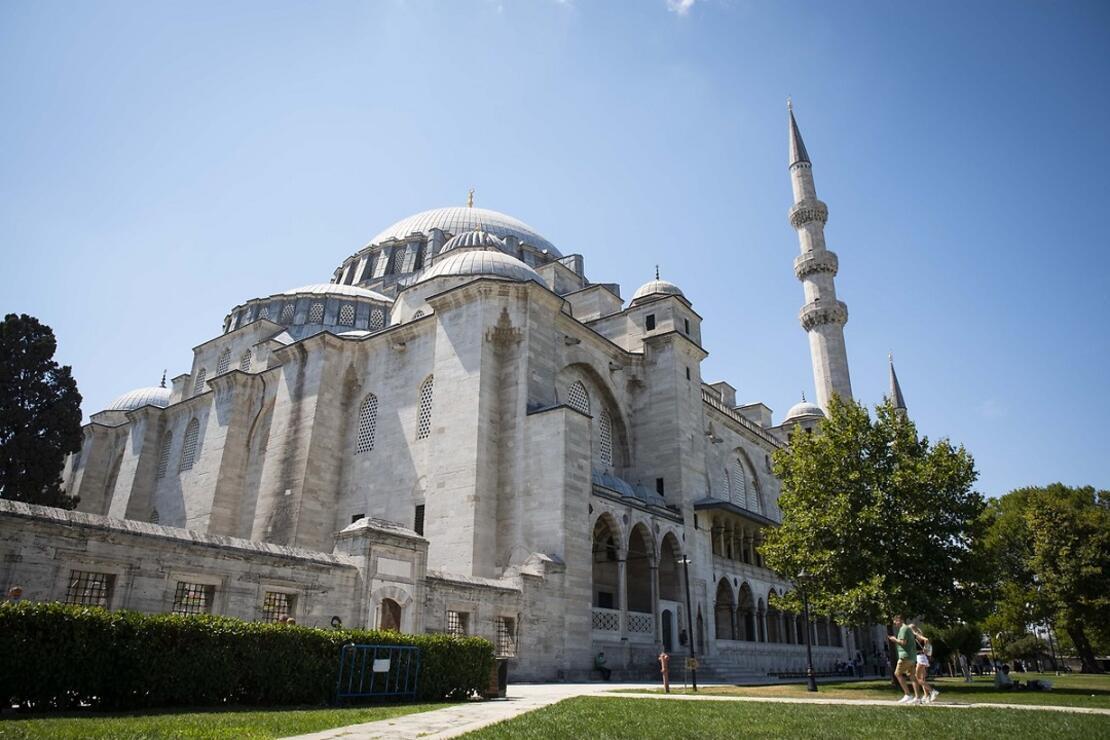 Kanuni'nin Mimar Sinan'a yaptırdığı mimari şaheser: Süleymaniye Camii