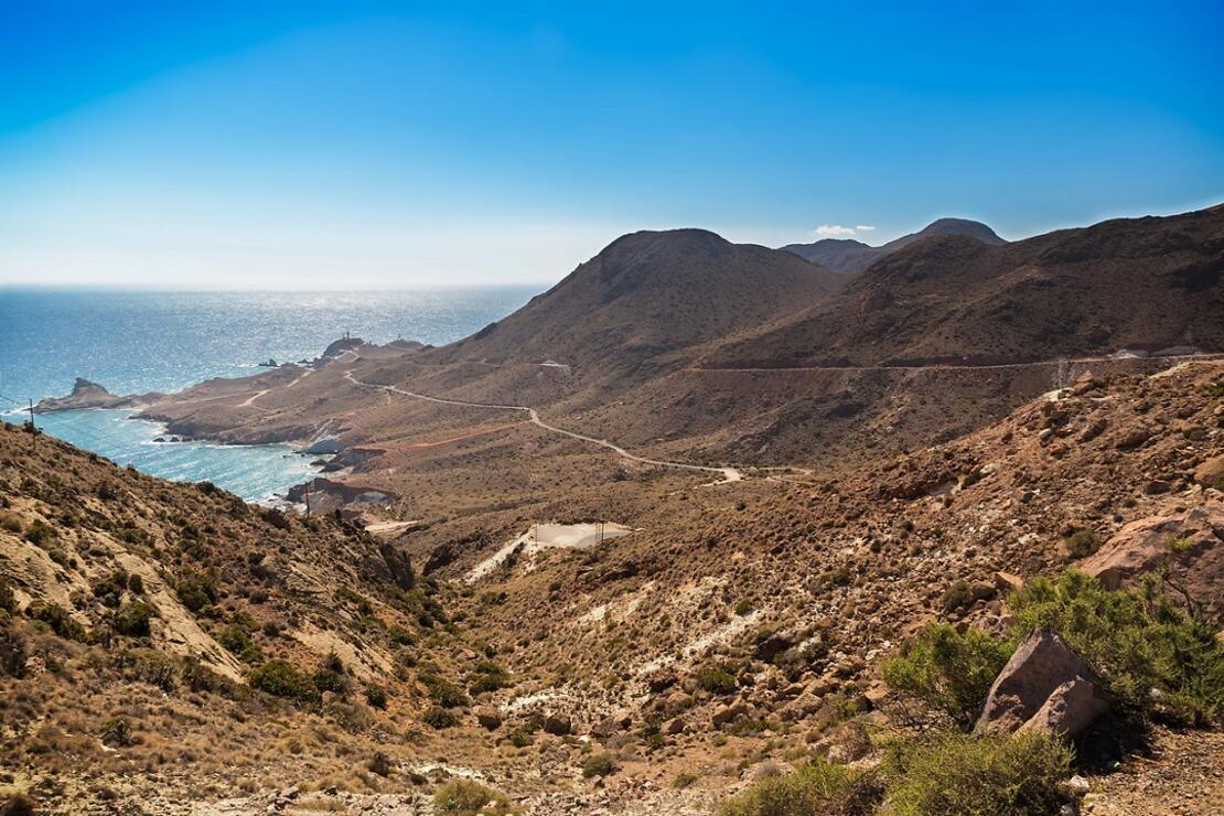 Avrupa'nın en kurak iklimine sahip Cabo De Gata-Nijar Ulusal Parkı